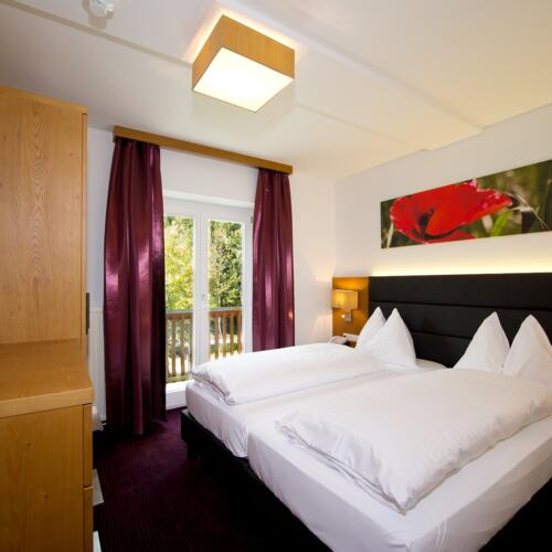 Double room in the Sporthotel Wagrain