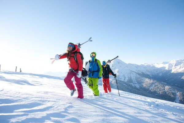 Skiing in Wagrain in Ski Amadé