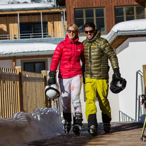 Skiing holiday in the Sporthotel Wagrain